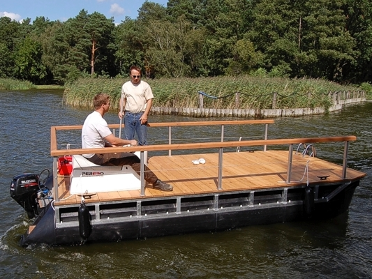Diy Wooden Pontoons Used Boats For In Ga