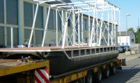 DIY construction kit pontoon boat