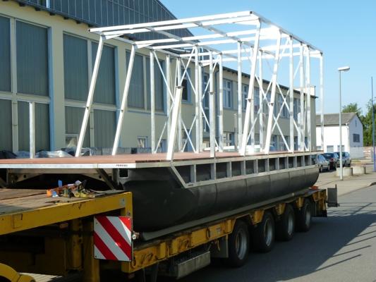 DIY Construction Pontoon Boat