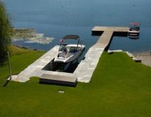 fishing floating dock