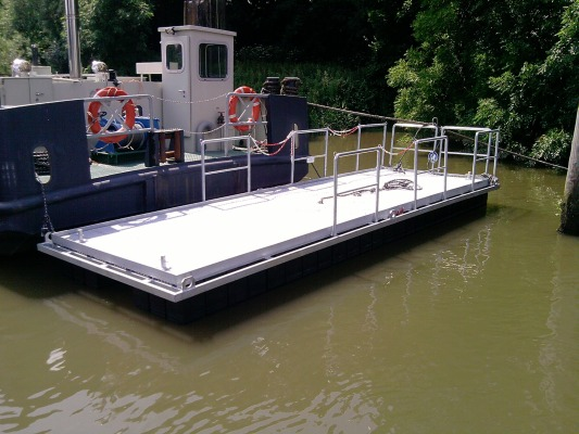 Floating Platforms - Pontoons and floating systems