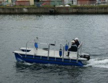 small work boat