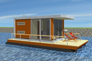 mobile floating house -PH20-