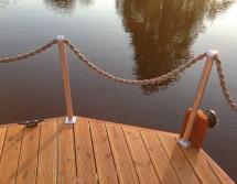 railing house boat