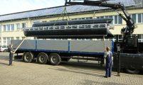 shipment of a pontoon kit