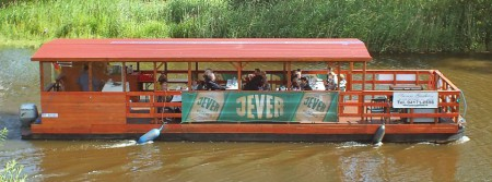 pontoon boat river tours