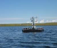 laboratory on a pontoon