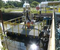 floating pump platform