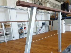 pontoon boat railing