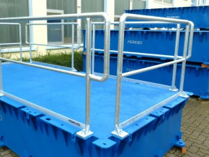 removable pontoon railing
