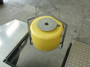 gripper for lifting of buoys