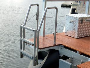 folding bathing ladder