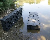 connectable plastic pontoons