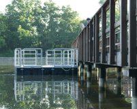 mobile work pontoon