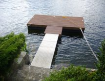 small floating dock