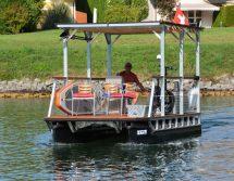 solar pontoon boat