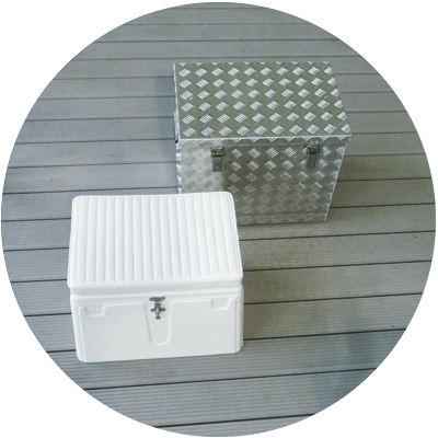 number storage boxes