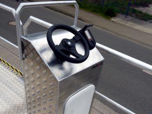 steering console (aluminum)