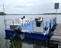pontoon barge