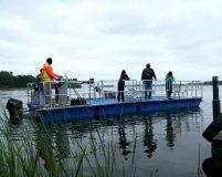 mobile transport pontoon