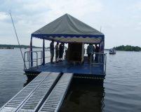 floating cargo raft