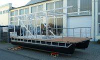 mobile houseboat pontoon