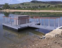 floating pump platform