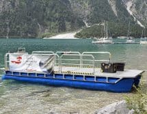 multipurpose pontoon catamaran