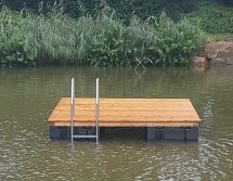 bathing pontoon raft